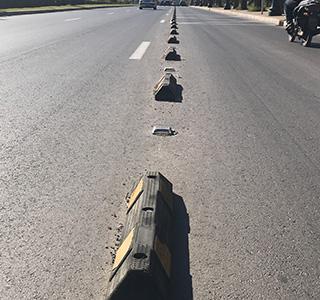 Séparateurs de chaussées
